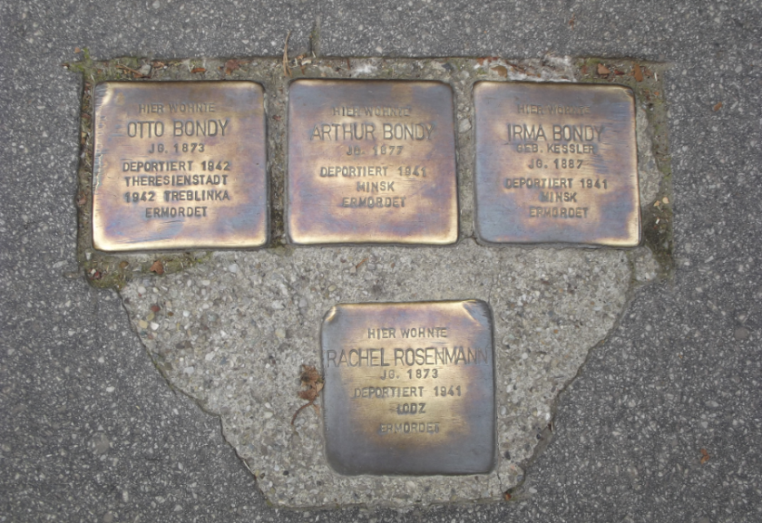 Memorials for Jewish deaths in Salzburg
