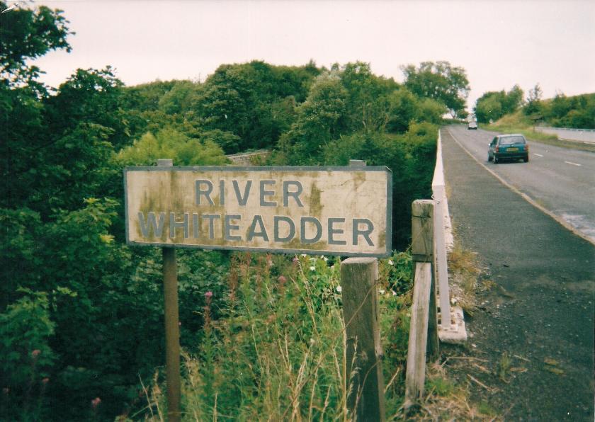 The river Whiteadder