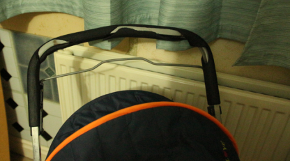 Broken pushchair rabbit stroller