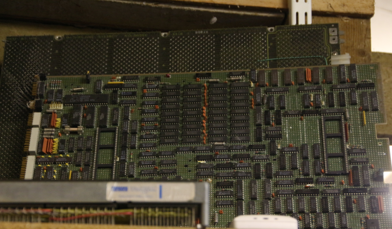 Jim Austin Computer Collection York Computer Sheds retro motherboard