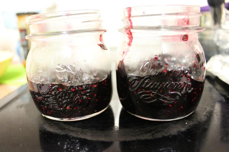 Blackberry jam.