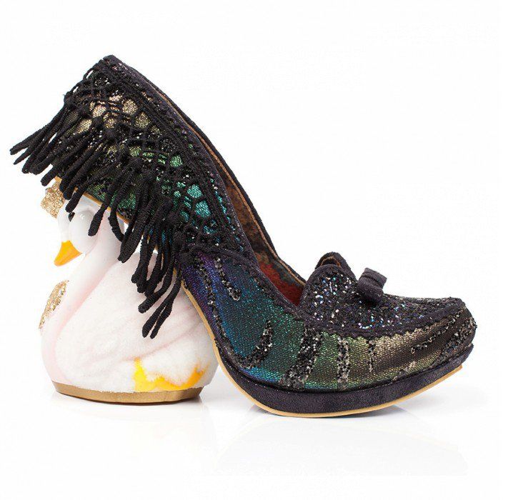 Odette from Irregular Choice (am I the only one who thinks it should be called Odile??) from: