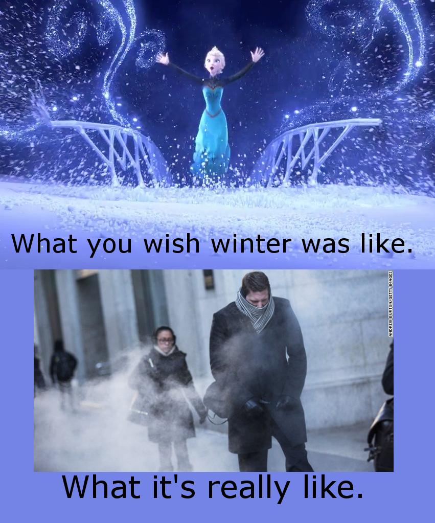 Frozen winter meme cold winter is coming Elsa