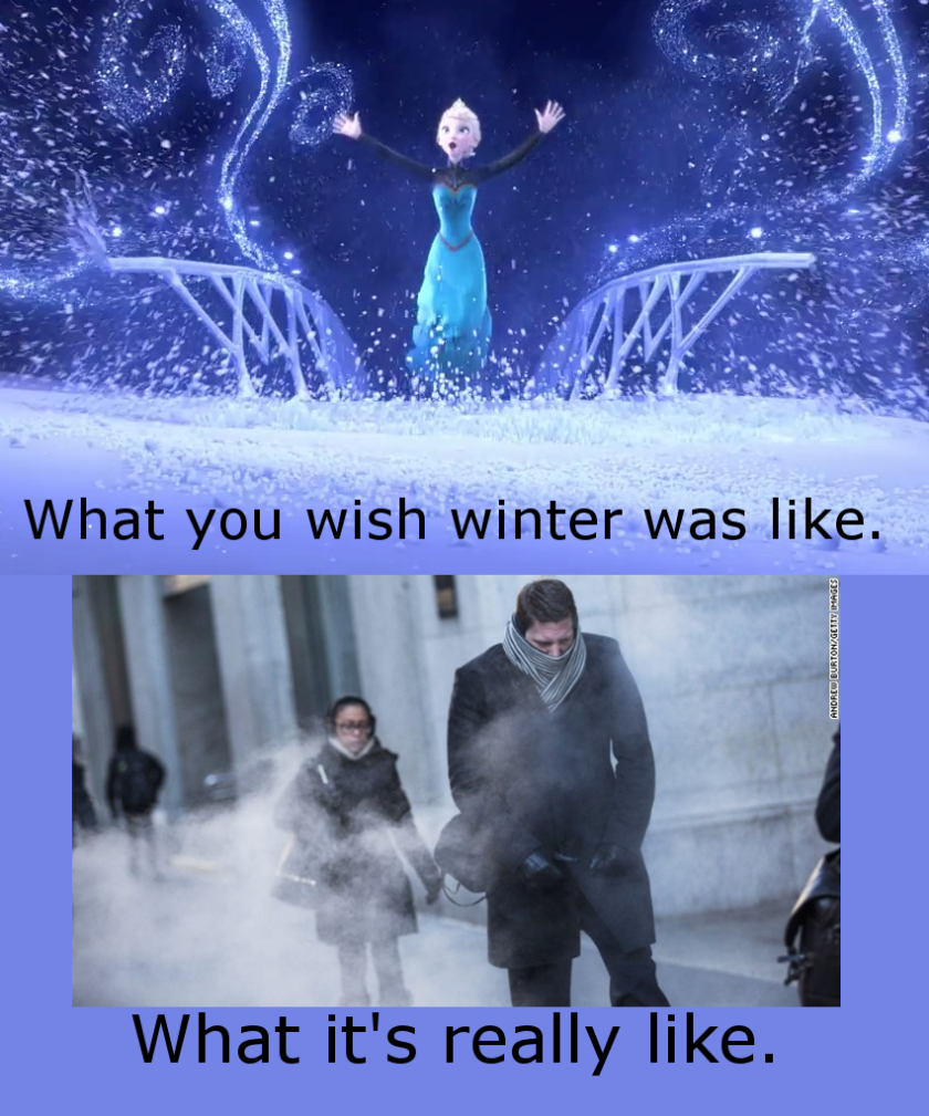 Frozen winter meme cold winter is coming Elsa
