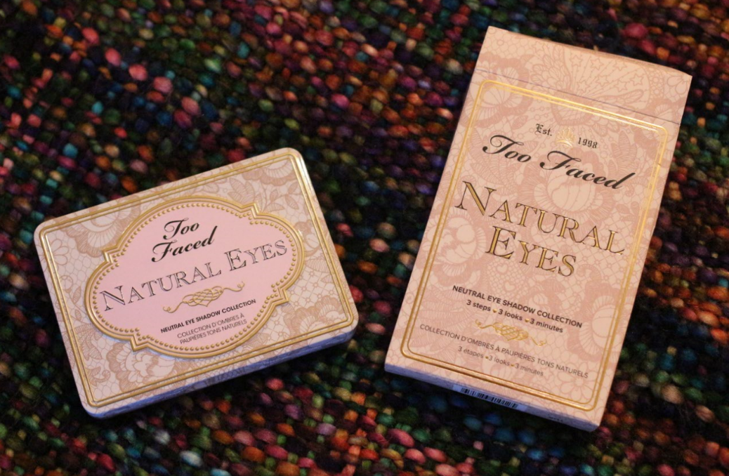 Too Faced Natural Eyes Pallette