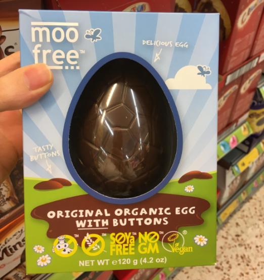 morrisons moo free chocolate vegan easter egg