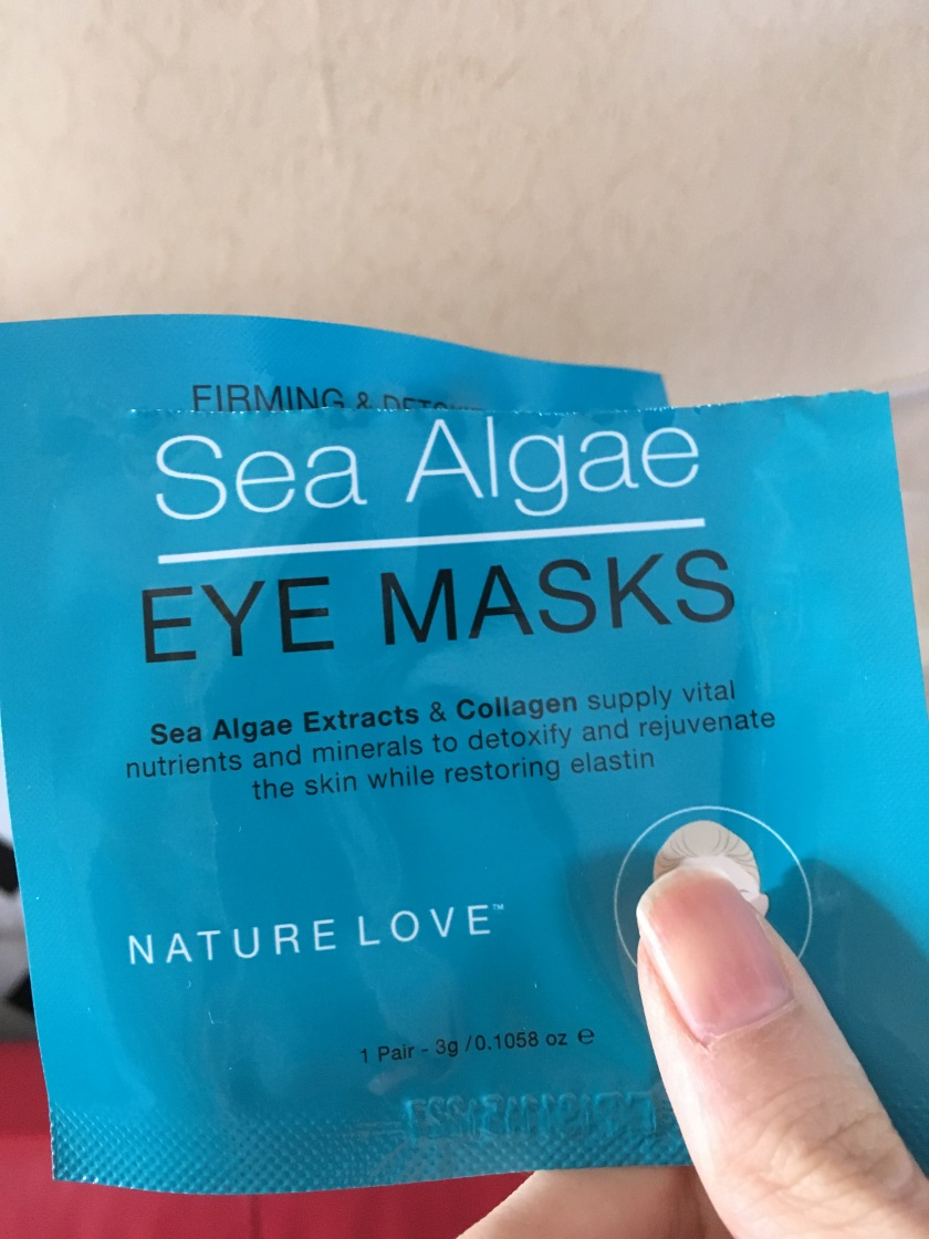 nature love sea algae eye masks review