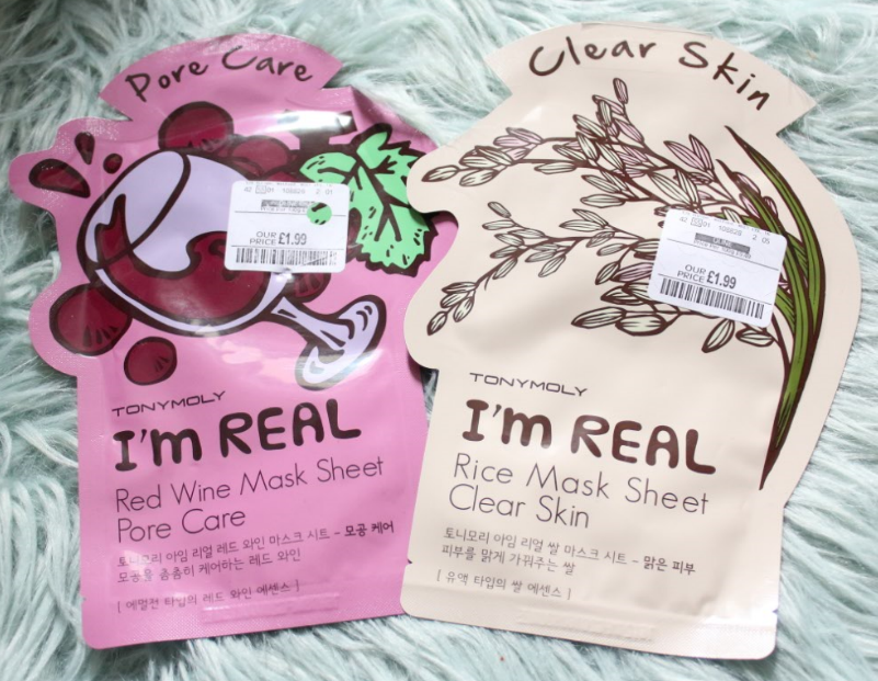 tony moly red wine rice mask sheet