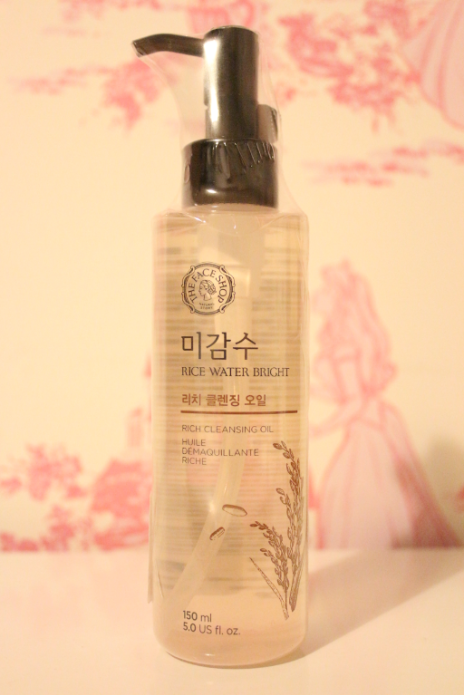 Review: The Face Shop Rice Water Bright Cleansing Oil