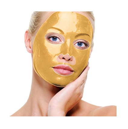 gold face mask review