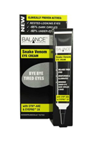 snake venom eye cream review