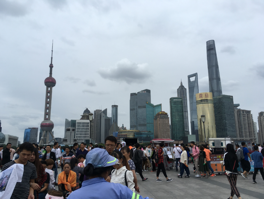 Shanghai river bank