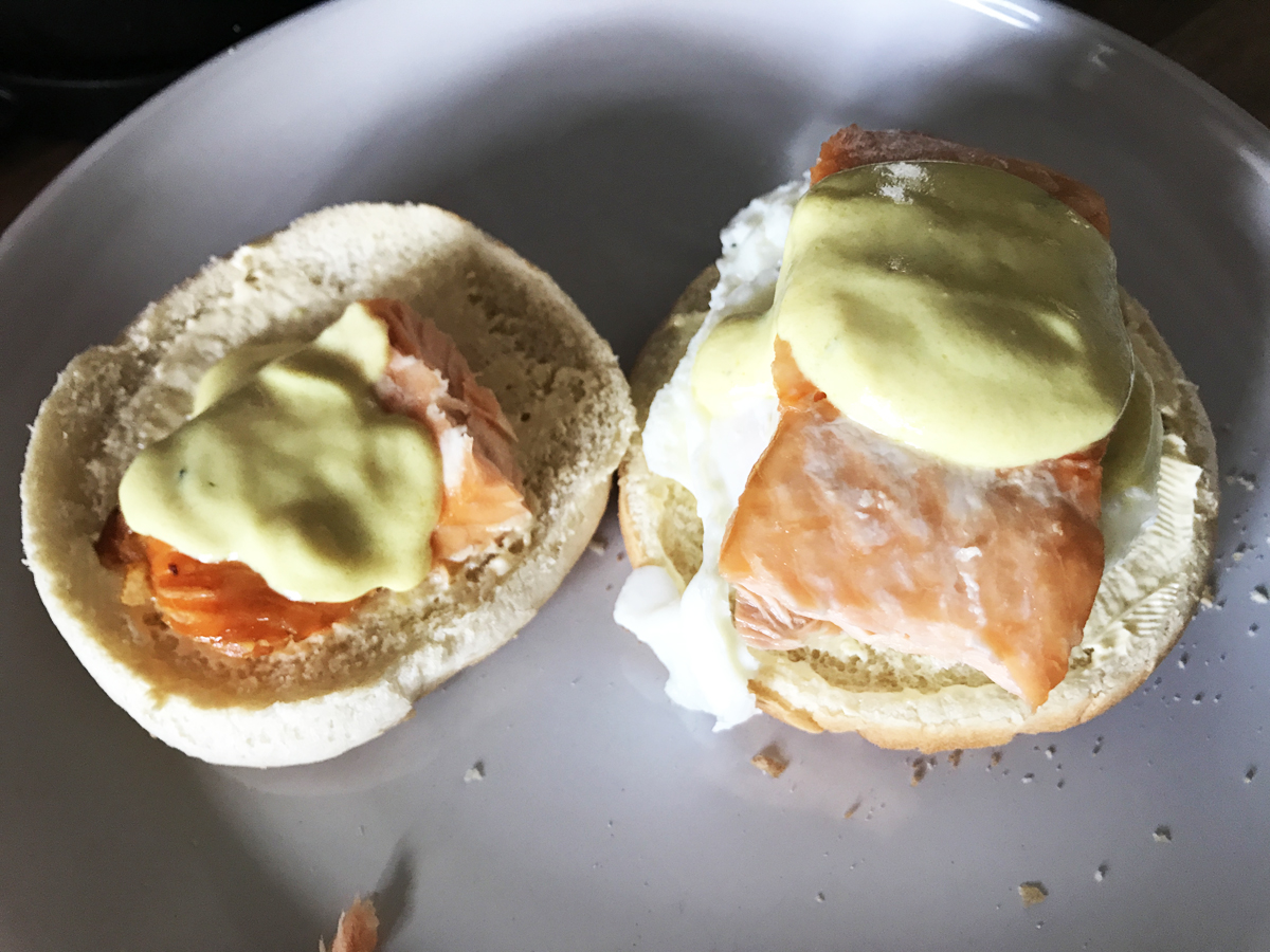 Holland-ish Sauce Vegan Hollandaise recipe for eggs benedict and eggs royale