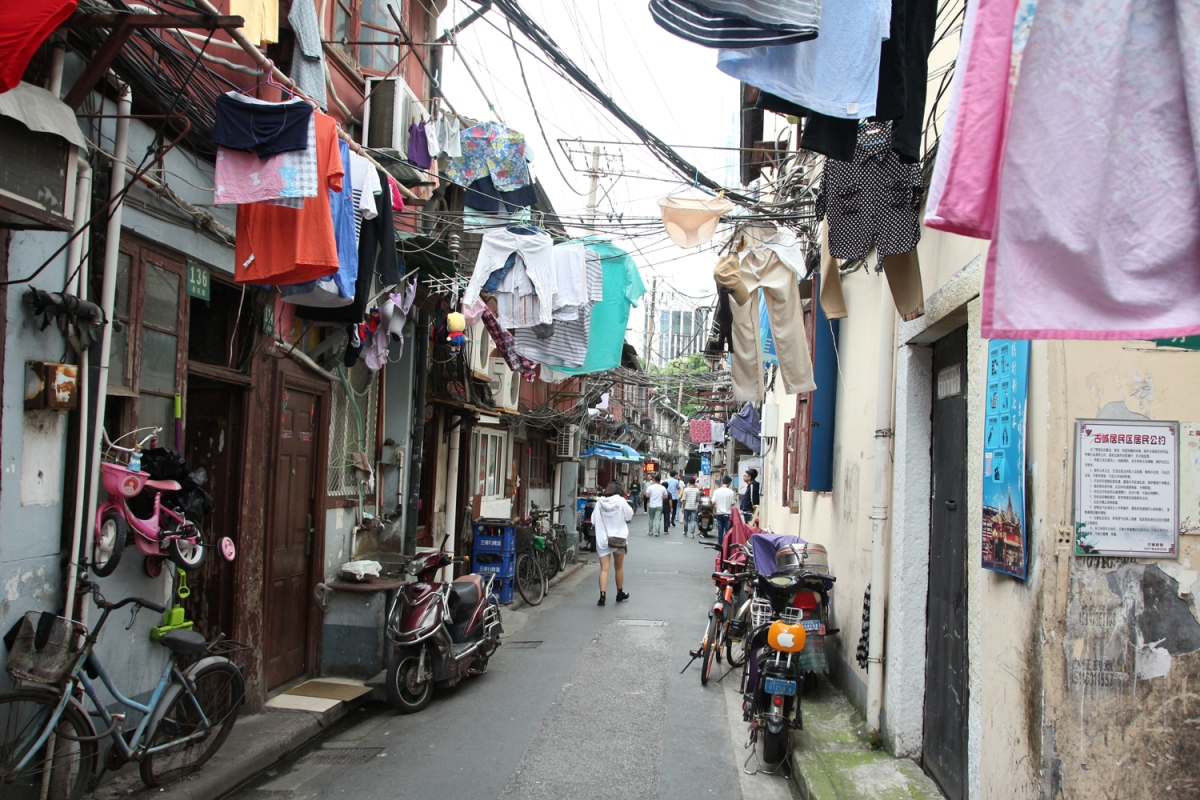 Postcards to my Baby: Shanghai's Old Town