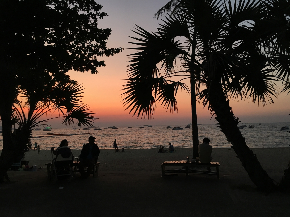 Postcards to my baby: Pattaya