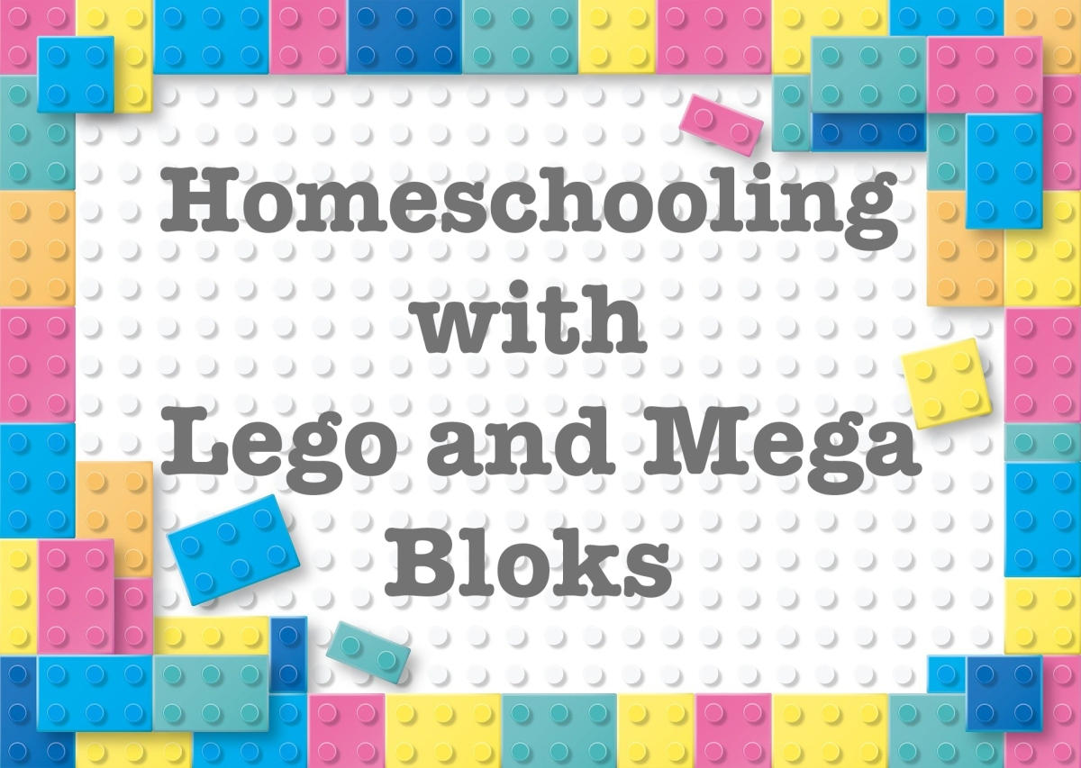 10 Homeschooling ideas for Lego or Mega Bloks Construx
