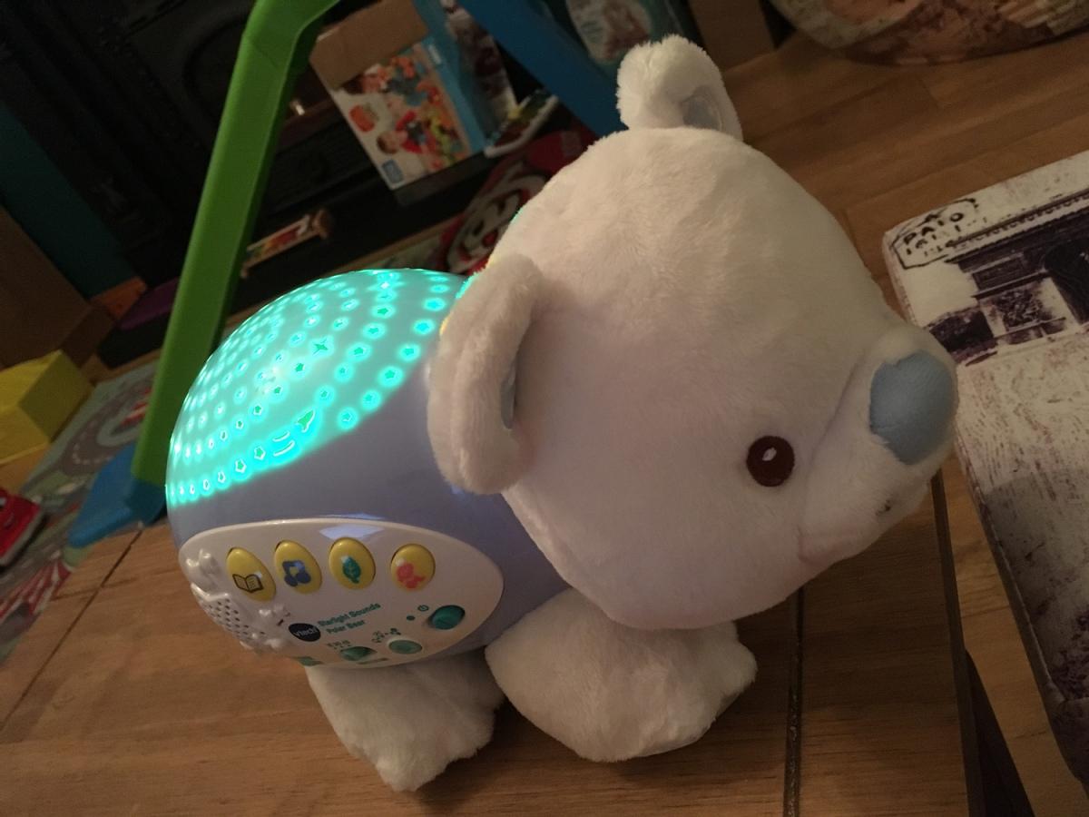 Vtech Starlight Sounds polar bear keeps stopping? Do this rightnow!