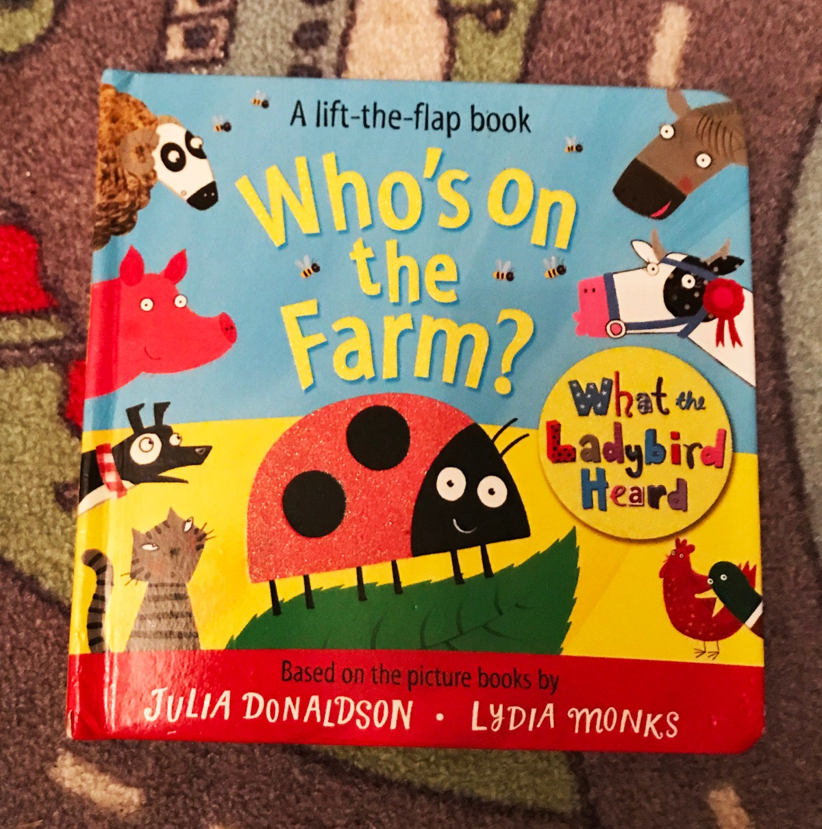Our 12 favourite books for babies and toddlers under2